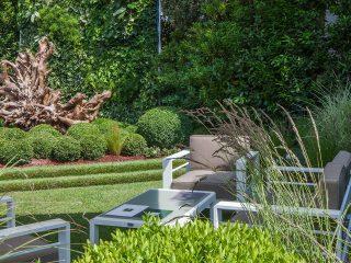 Progettazione terrazzo - giardino moderno a Milano