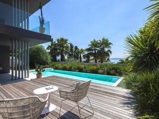 Realizzazione giardino mediterraneo sul Garda