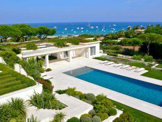 Progettazione giardino con vista mare