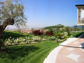 Progettazione giardino per villa in Panoramica